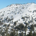 "The ""Face"" at Bogus Basin"