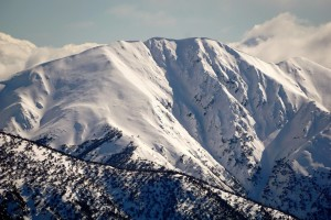 A look at Feathertop in mid-winter conditions - Photo courtesy Mike Garrett